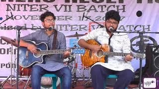 Amar Shonar Bangla by James II Live Song    NITER Freshers 2017