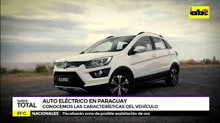 Auto eléctrico llegará al Paraguay