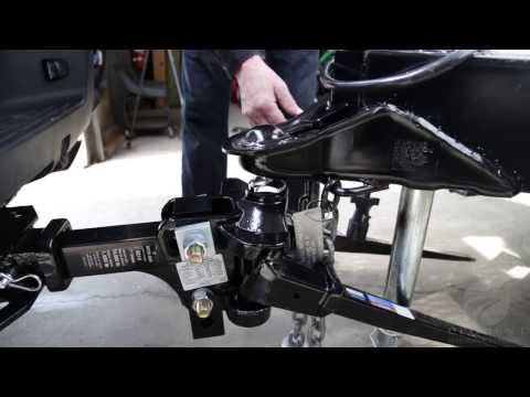 Reese® SC Weight Distribution & Sway Control Installed on Bottom Mounted/Inverted Coupler