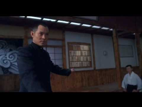 Fist of Legend; Jet Li vs. the Japanese school