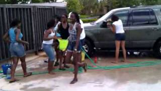 KK Dance Troupe car wash