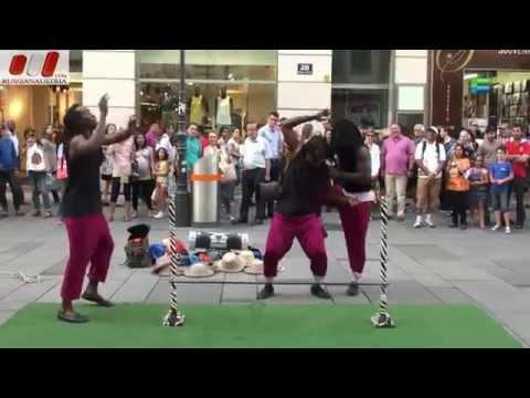 Limbo. Street Show. Vienna Guides by RussianAustria (Full HD)