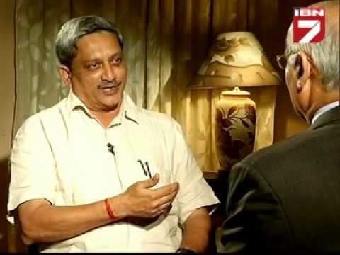 Teekhi Baat with Manohar Parrikar_Prabhu chawla on IBN7