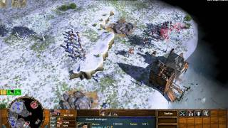 Valley Forge - Age of Empires 3 The Warchiefs - Act 1 Mission 6 - Hard