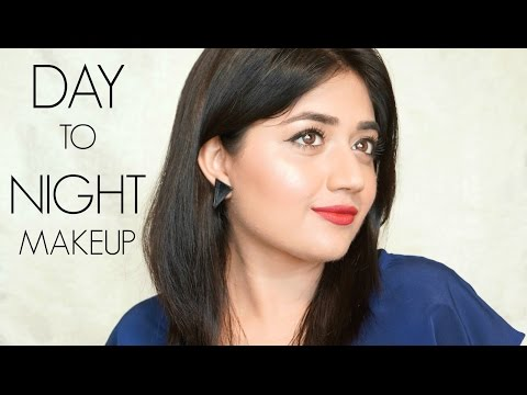 Day to Night Makeup Tutorial for Indian skin   corallista