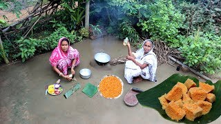 Musur Dal Dhoka Recipe by our Grandmother | Traditional Dhokar Dalna Recipe | Village Food
