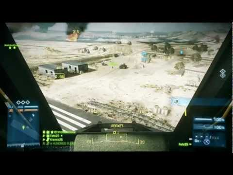 BF3 Commentary | Attack Helicopter Operation Firestorm Conquest | Fets25