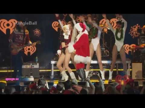Miley Cyrus - Party In The Usa (live At Z100's Jingle Ball 2013) video