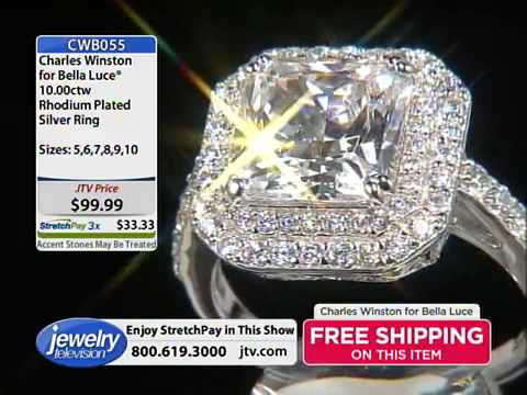 Charles Winston For Bella Luce With Sharon 8 2 2014 10 00 PM   Jewelry Television   YouTube
