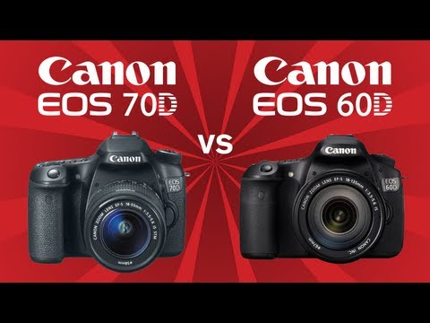 Canon 70D vs Canon 60D