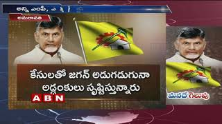 AP CM Chandrababu Confident Over Winning 2019 Elections with Newly Implemented 5 Schemes |ABN Telugu