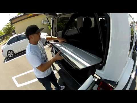 Jeep Wrangler Unlimited JKU 2012 T-Top removal