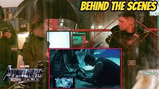 Avengers: Endgame Behind the Scenes and B-Roll | Chris Evans 2019
