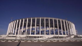 World Cup 2018: BBC News crew followed in Russia host city