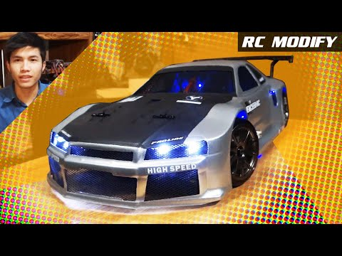 RC Modify 7   NISSAN Skyline GTR R34