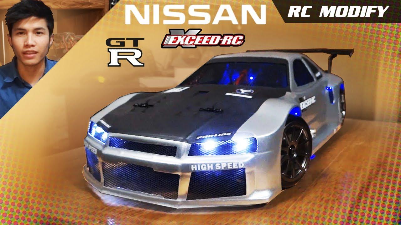 RC Modify 7 | NISSAN Skyline GTR R34 - YouTube