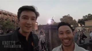 Ryan and Shane from Buzzfeed Unsolved visit Knott