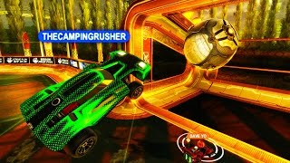 THE BEST ROCKET LEAGUE GAMEPLAY!! ( eSports 2v2 Ladder #1 )