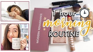 1 Hour Realistic Morning Routine For Work ⏰