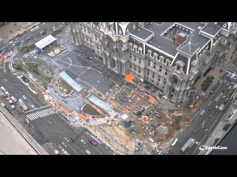 Dilworth Park Construction Cam Timelapse