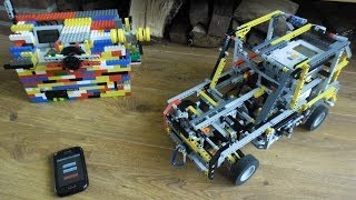 LEGO Mindstorms - RC car with 5 speed gearbox