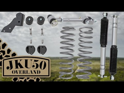 Rubicon Express Standard Coil System Lift Kit & Sway Bar Disconnects Overview   JKU50 Overland