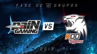 [Mundial 2015] paiN x KOO Tigers - Grupo A, Dia 1