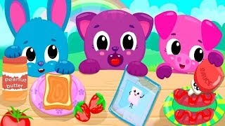 Fun Baby Pet Care Game| Cute & Tiny Picnic - Fun Family BBQ, Tea Party & Park Cleanup Games For Kids