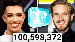 8 YouTubers Who Will Get The 100 MILLION SUBSCRIBER PLAQUE (PewDiePie, Dude Perfect, 5 Minute Crafts