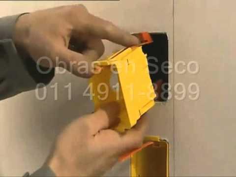Instalacion de bocas de luz en placas de yeso youtube - Como hacer placas de yeso ...