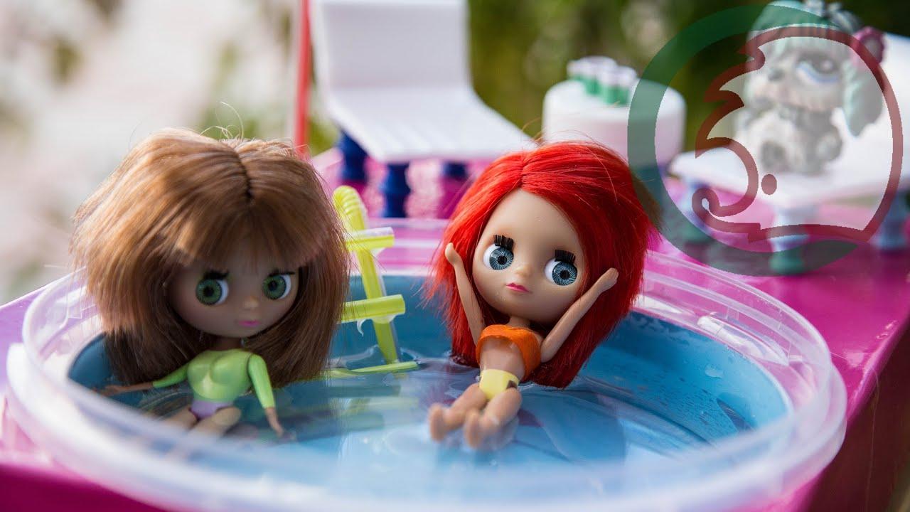 Бассейн для кукол своими руками 97
