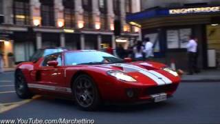 Ford GT Rev and Accelerate