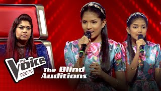 Kavindi Chithara | Bahut Pyar Karte Hain Tumko Sanam | Blind Auditions | The Voice Teens Sri Lanka