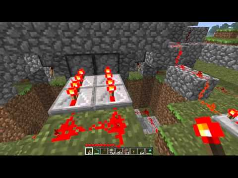 Minecraft: Jeb Piston Door Tutorial