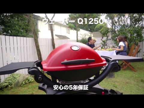 어디든지 이용 가능한 휴대용 가스 그릴 Q1250 소개 영상