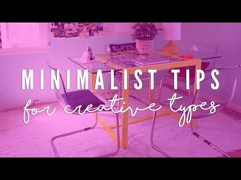 Minimalist Tips for Creative Types: What I Bought After Decluttering!!!