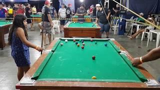 Tatiane de Guapiaçu vs Nélson de Tupã, par ímpar em Catanduva-SP 2018