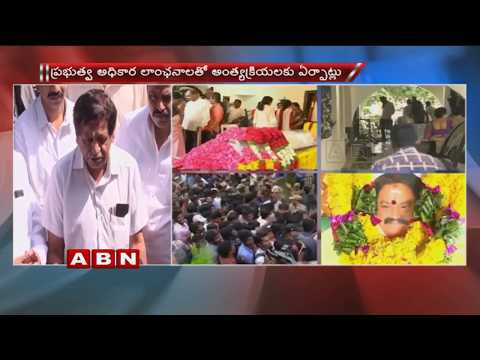 Political Leaders Pays Homage To Nandamuri Harikrishna | ABN Telugu