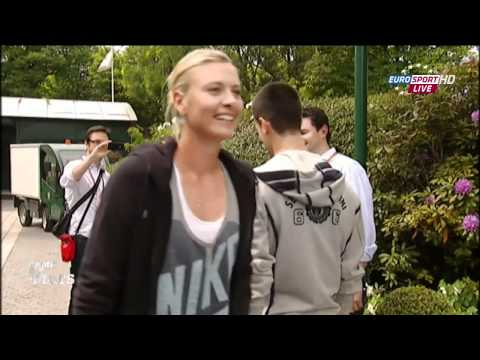 Roland Garros 2011 - Funny Moments (1st day)