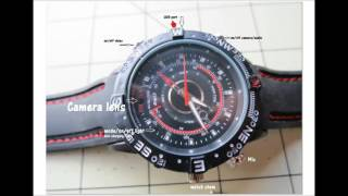 Complete instructions how to use $13 spy watch video camera