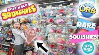 RARE JUMBO ROSE GOLD SQUISHY! RARE SQUISHIES AT WALMART!! SO MANY!