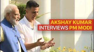Watch Akshay Kumar's Interview With PM Modi | Full Video | #ModiWithAkshay
