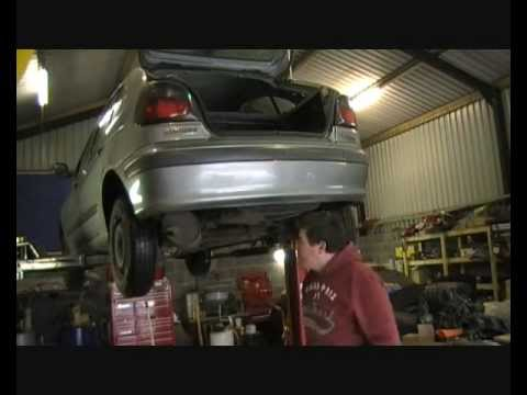 How To Fit A Tow Bar Part 1 Fitting Youtube