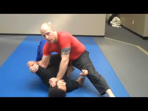 Jay-jitsu BJJ: No Gi - Knee on belly - Modified Kimura / half 