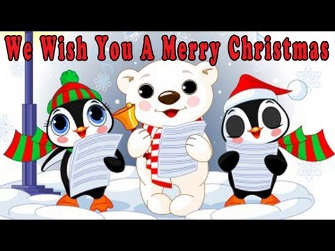 Christmas Songs for Children with lyrics - We Wish You a Merry...