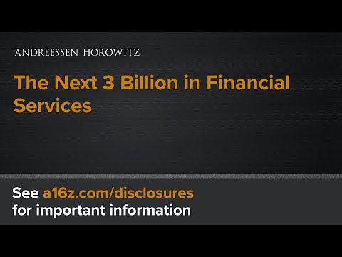 The Next 3 Billion in Financial Services