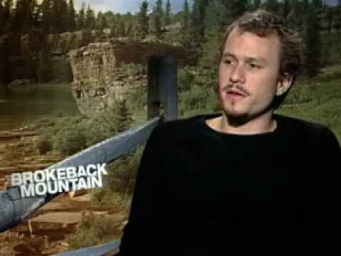 Brokeback Mountain Interview With Heath Ledger video