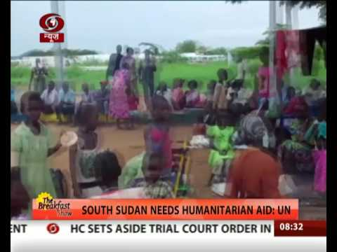 South Sudan needs humanitarian aid: UN