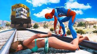 GTA 5 Water Ragdolls | Crazy SPIDERMAN Jumps/Fails Compilation #14 (Funny Moments | Ragdoll)