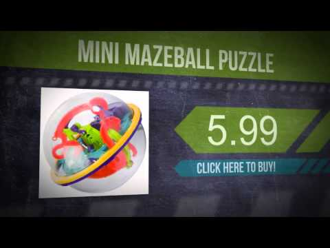 Mini Mazeball Puzzle